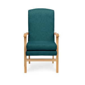 COMMON APPLICATION: Medically recommended chair is made from high-quality European hardwood. Ideal for healthcare environments, the Crib 5 rated chair is found in hospices, housing association facilities, nursing homes, elderly care homes, and hospital waiting rooms. Fully functioning removal seat is the perfect hassle free solution.