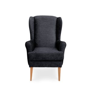 Usually used by people with a backache or postural problems or as a recovery chair for after hip and knee operations High back of padded wing chair provides more comfort